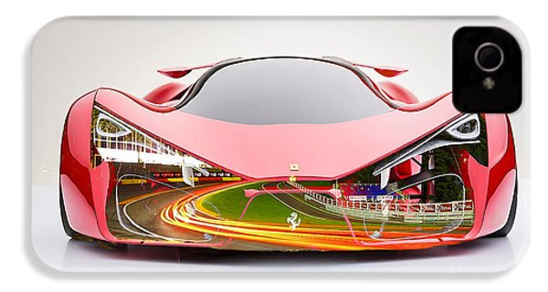 Ferrari F80  IPhone 4 / 4s Case by Marvin Blaine
