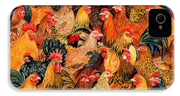 Fine Fowl IPhone 4 / 4s Case by Ditz