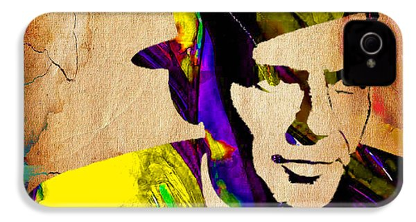 Frank Sinatra Art IPhone 4 / 4s Case by Marvin Blaine
