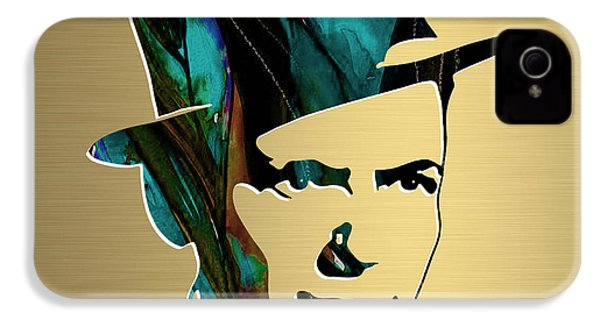 Frank Sinatra Gold Series IPhone 4 / 4s Case by Marvin Blaine