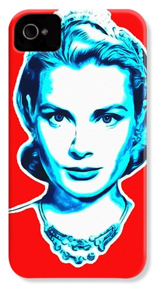 Grace Kelly IPhone 4 / 4s Case by Art Cinema Gallery