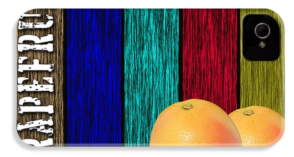 Grapefruit IPhone 4 / 4s Case by Marvin Blaine