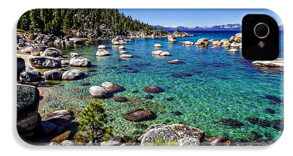 Lake Tahoe Waterscape IPhone 4 / 4s Case by Scott McGuire