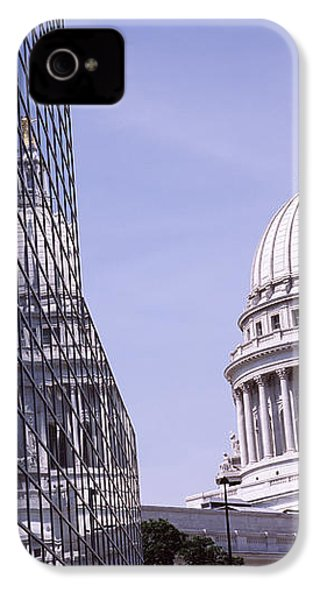 Low Angle View Of A Government IPhone 4 / 4s Case by Panoramic Images