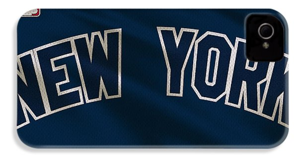 New York Yankees Uniform IPhone 4 / 4s Case by Joe Hamilton