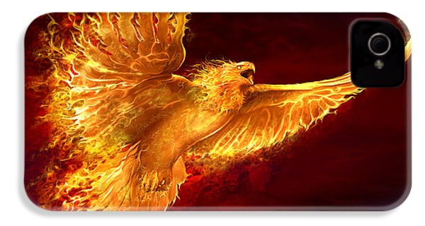 Phoenix Rising IPhone 4 / 4s Case by Tom Wood
