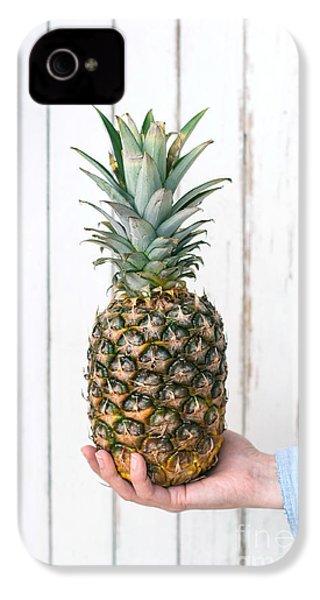 Pineapple IPhone 4 / 4s Case by Viktor Pravdica