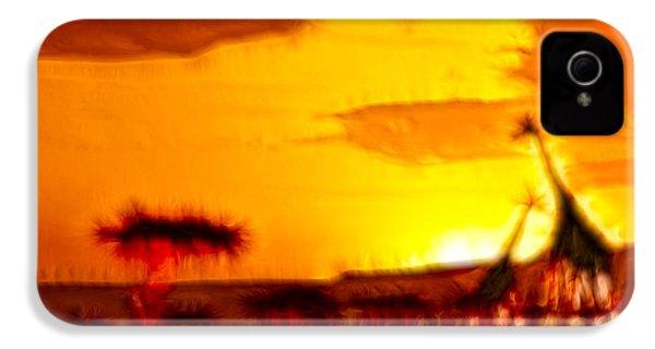 Serengeti Sunset IPhone 4 / 4s Case by Sebastian Musial