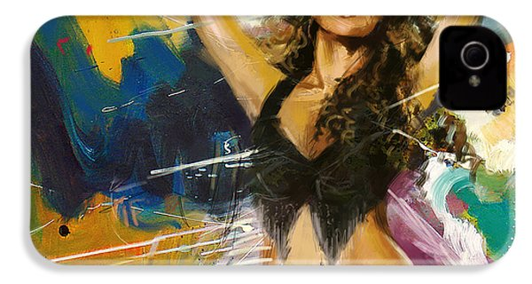 Shakira IPhone 4 / 4s Case by Corporate Art Task Force