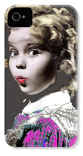 Shirley Temple Publicity Photo Circa 1935-2014 IPhone 4 / 4s Case by David Lee Guss