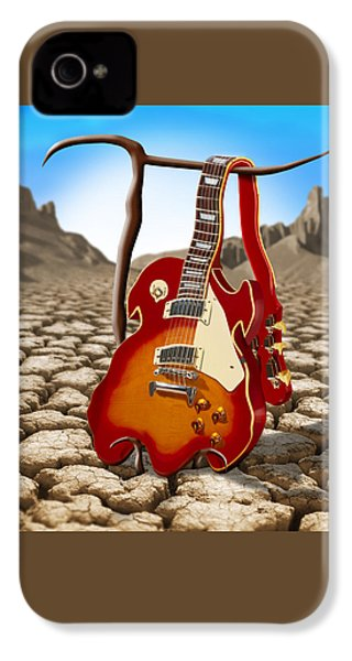 Soft Guitar II IPhone 4 / 4s Case by Mike McGlothlen
