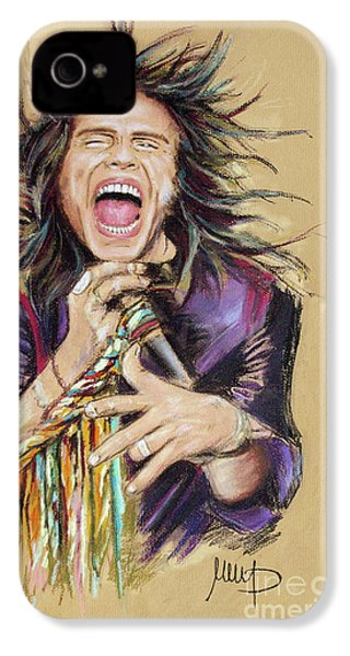 Steven Tyler  IPhone 4 / 4s Case by Melanie D