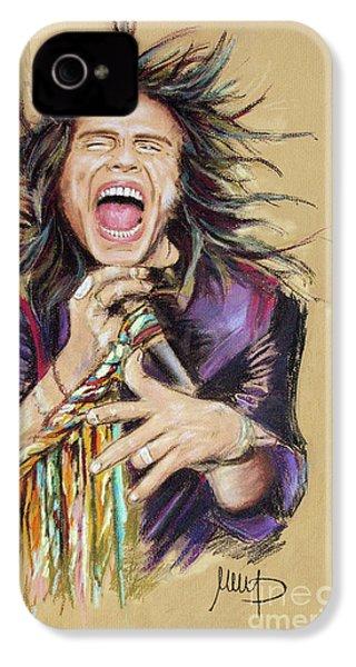 Steven Tyler  IPhone 4 / 4s Case by Melanie D