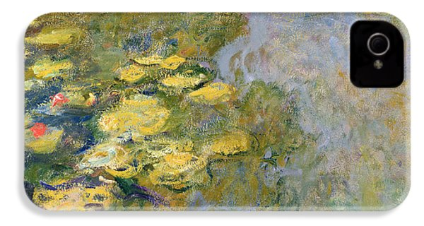 The Waterlily Pond IPhone 4 / 4s Case by Claude Monet