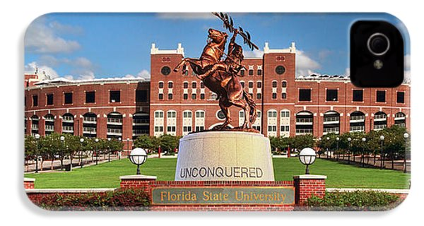 Unconquered IPhone 4 / 4s Case by John Douglas