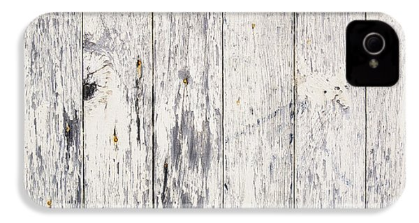 Weathered Paint On Wood IPhone 4 / 4s Case by Tim Hester