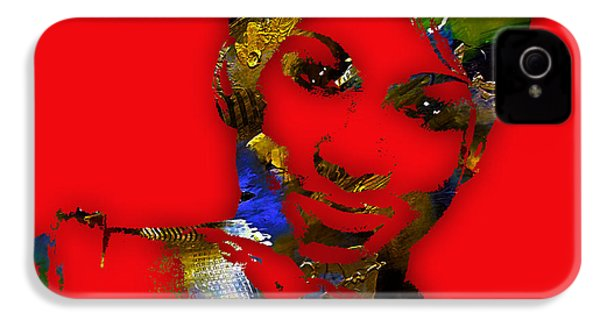 Aretha Franklin Collection IPhone 4 / 4s Case by Marvin Blaine
