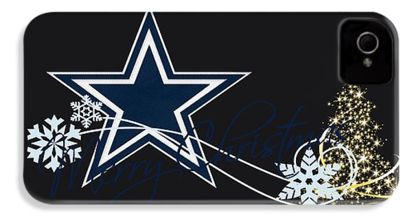 Dallas Cowboys IPhone 4 / 4s Case by Joe Hamilton