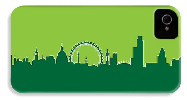 London England Skyline IPhone 4 / 4s Case by Michael Tompsett