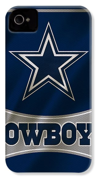 Dallas Cowboys Uniform IPhone 4 / 4s Case by Joe Hamilton