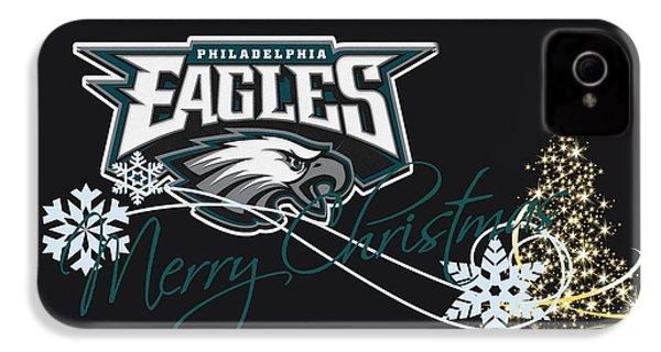 Philadelphia Eagles IPhone 4 / 4s Case by Joe Hamilton