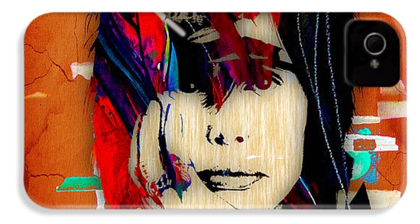 Steven Tyler Collection IPhone 4 / 4s Case by Marvin Blaine