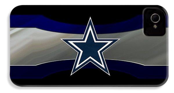 Dallas Cowboys IPhone 4 / 4s Case by Joe Hamilton