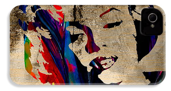 Marilyn Monroe IPhone 4 / 4s Case by Marvin Blaine