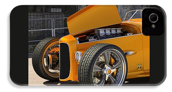 1932 Hot Rod IPhone 4 / 4s Case by Marvin Blaine