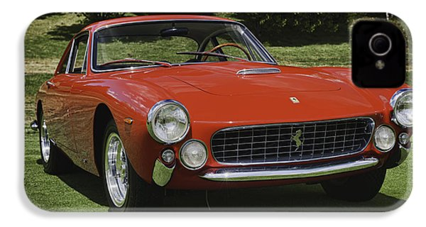 1963 Ferrari 250 Gt Lusso IPhone 4 / 4s Case by Sebastian Musial