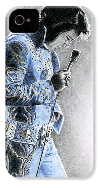 1972 Light Blue Wheat Suit IPhone 4 / 4s Case by Rob De Vries