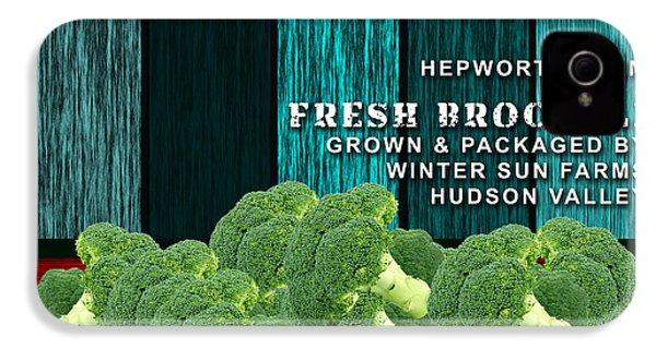 Broccoli Farm IPhone 4 / 4s Case by Marvin Blaine
