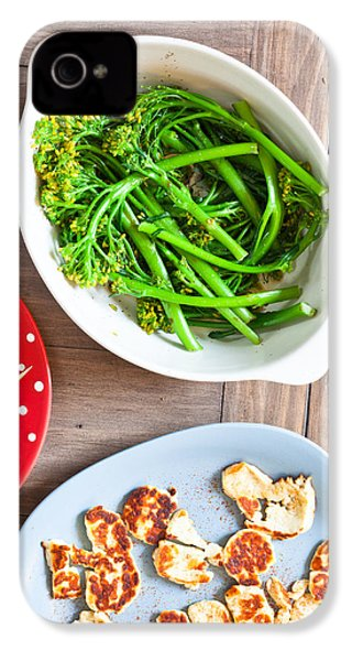 Broccoli Stems IPhone 4 / 4s Case by Tom Gowanlock