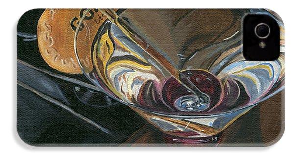 Chocolate Martini IPhone 4 / 4s Case by Debbie DeWitt