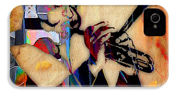 Dizzy Gillespie Collection IPhone 4 / 4s Case by Marvin Blaine