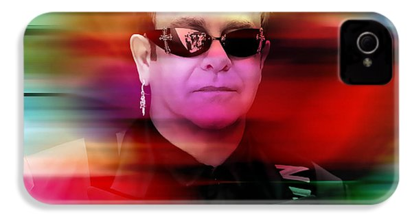 Elton John IPhone 4 / 4s Case by Marvin Blaine