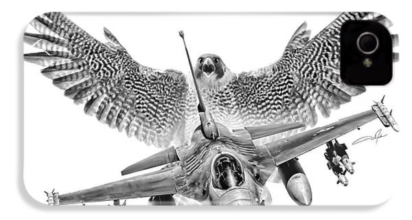 F-16 Fighting Falcon IPhone 4 / 4s Case by Dale Jackson