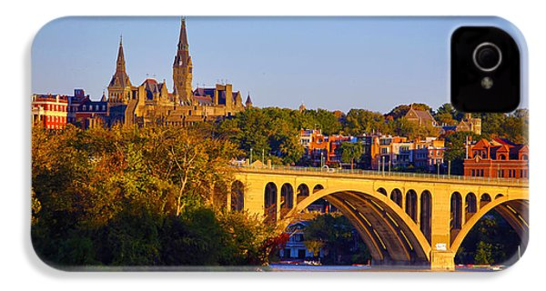 Georgetown IPhone 4 / 4s Case by Mitch Cat
