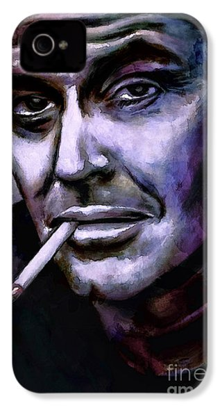 Jack Nicholson IPhone 4 / 4s Case by Andrzej Szczerski