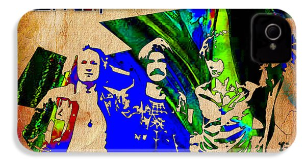 Led Zeppelin Painting IPhone 4 / 4s Case by Marvin Blaine