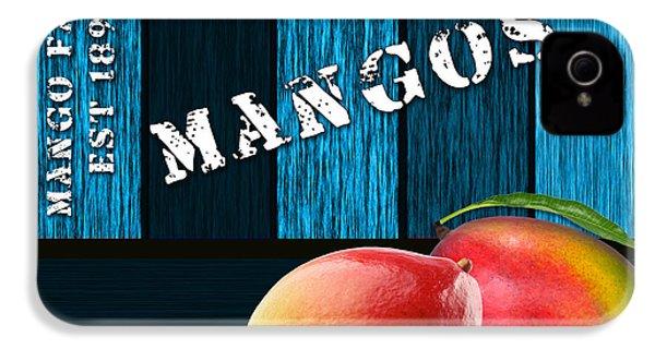 Mango Farm Sign IPhone 4 / 4s Case by Marvin Blaine