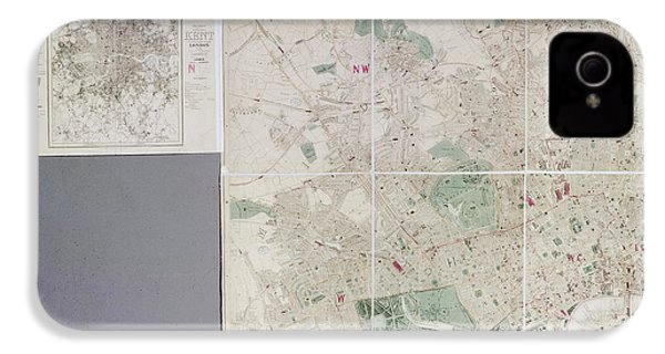 Map Of London IPhone 4 / 4s Case by British Library