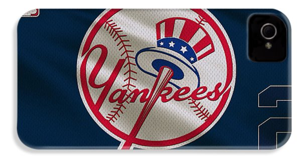 New York Yankees Derek Jeter IPhone 4 / 4s Case by Joe Hamilton