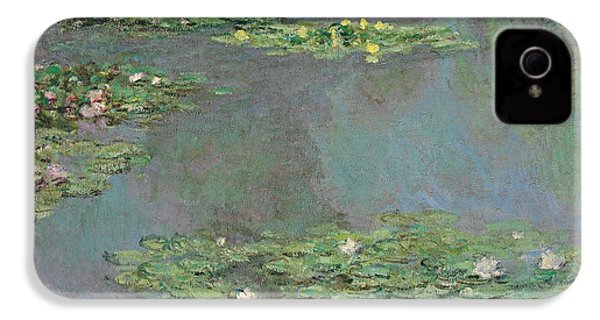 Nympheas IPhone 4 / 4s Case by Claude Monet