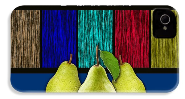 Pears IPhone 4 / 4s Case by Marvin Blaine