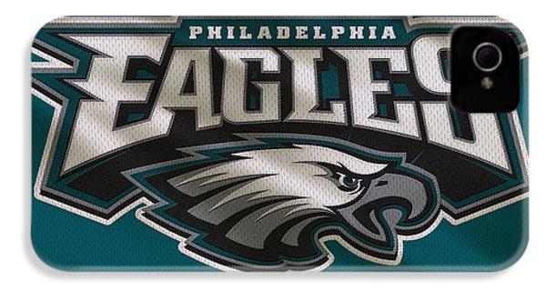Philadelphia Eagles Uniform IPhone 4 / 4s Case by Joe Hamilton
