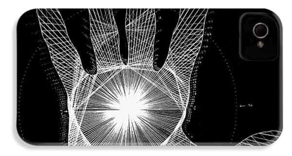 Quantum Hand Through My Eyes IPhone 4 / 4s Case by Jason Padgett