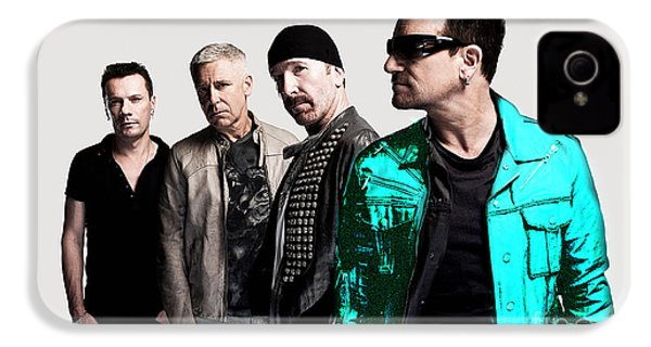 U2 IPhone 4 / 4s Case by Marvin Blaine