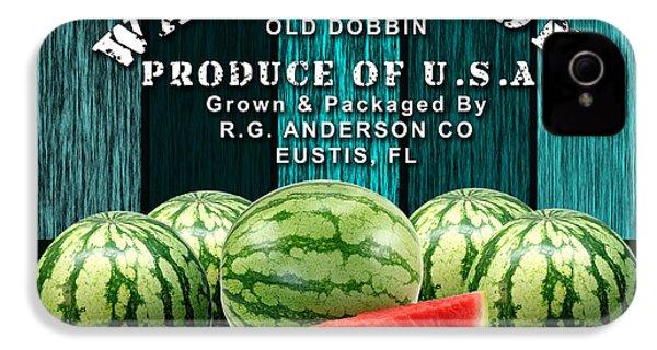 Watermelon Farm IPhone 4 / 4s Case by Marvin Blaine