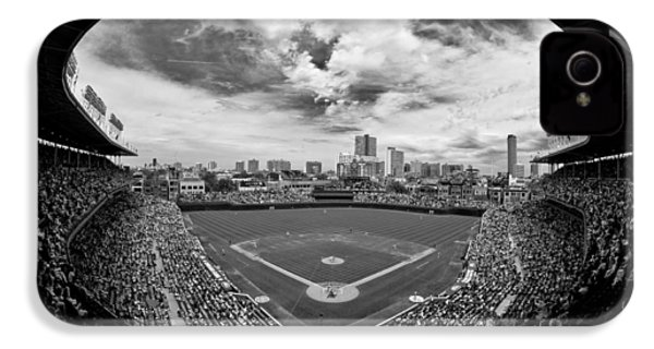 Wrigley Field  IPhone 4 / 4s Case by Greg Wyatt